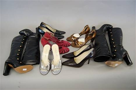 A group of Marc Jacobs footwear, including: two pai
