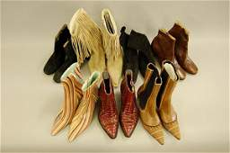 51 Seven pairs of ankle boots including Paul Smith m