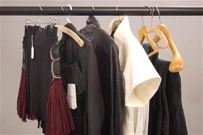 101: A group of Balenciaga jackets and separates, inclu