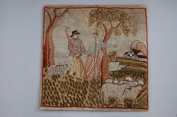 1006: A naive embroidery of a shepherd and his love, ci