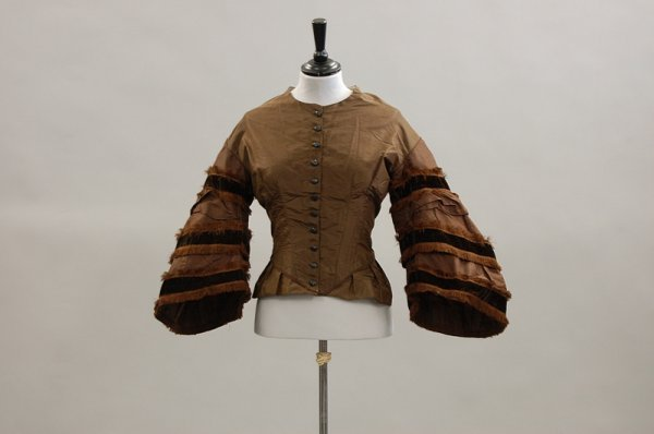 1: A group of mainly Victorian and Edwardian bodices an