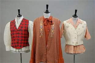 A general group of bodices and blouses, approx 25, d