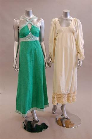 A group of designer-wear late 60s-mid 70s, seven