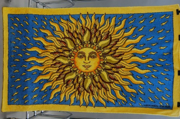 1106: Four Hermes beach towels, each with a different c - 3