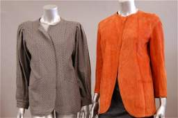 1194: A group of 1970s-80s clothing, comprising:Alaia b