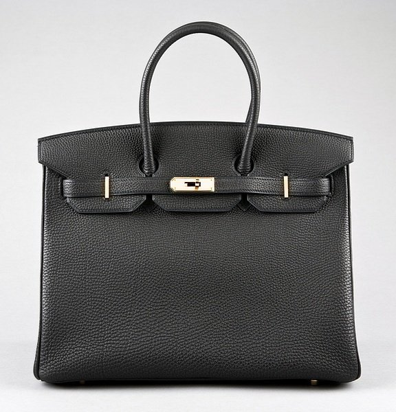 5: An Hermès black togo leather Birkin, 2007, with gilt
