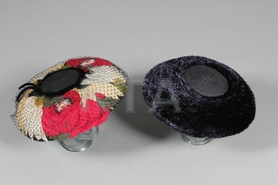 A group of broad-brimmed hats, 1950s, fourteen mainly