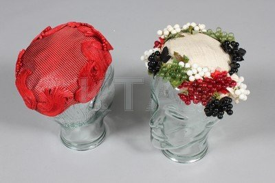 Bes Ben hats, 1950s, labelled, including white silk
