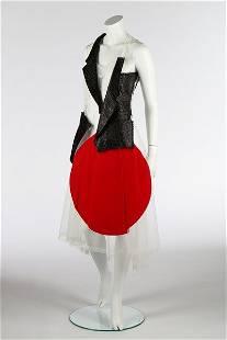 A Rei Kawakubo/Comme des Garçons 'Rising Sun' dress,