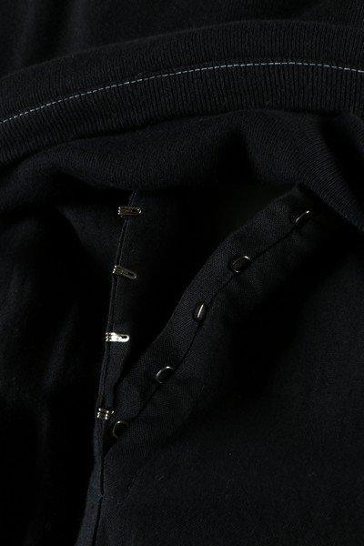 A Yohji Yamamoto black calico smock dress, probably - 5