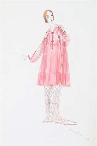 Lucile studio fashion sketches, circa 1916-19.