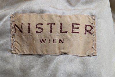 A Nistler of Vienna champagne-mink bolero jacket, - 7