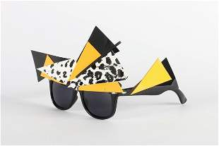 A large group of sunglasses, 1980s-90s, Cutler & Gross