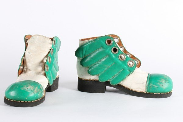 A rare pair of Mr Freedom winged boots, designed by Jim - 2