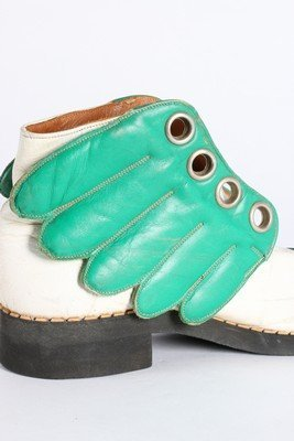 A rare pair of Mr Freedom winged boots, designed by Jim - 5