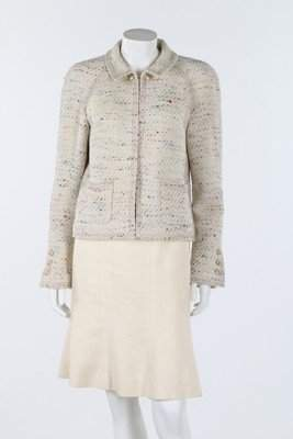 Two Chanel tweed jackets, circa 2000, both boutique