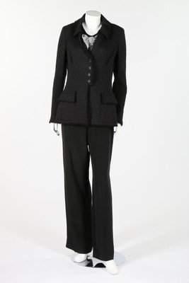 A Chanel black tweed jacket, circa 2000, boutique