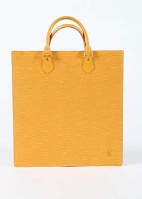 A Louis Vuitton sunflower-yellow epi leather handbag,