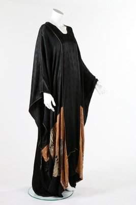 A Thea Porter abaya/kaftan, 1970s, labelled 'Thea