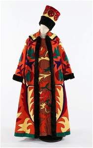 The Ballets Russes style costume worn by Prince