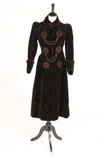 A group of Victorian separates, including a black