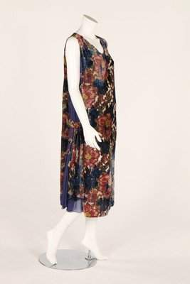 Summery floral dresses, late 1920s, including two of