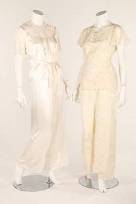 A quantity of night-wear, 1930s, including; two sets of