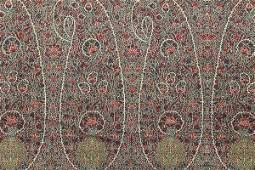 A good woven Paisley kirking shawl, circa 1845, with