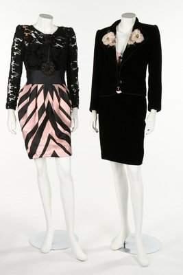 Valentino cocktail wear, 1980s-90s. Valentino Boutique