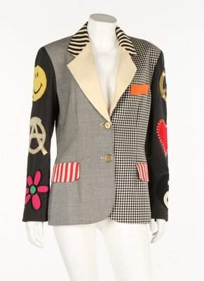 A Moschino jacket, circa 1993. couture label with