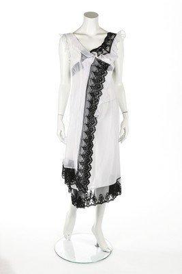 A Comme des Garçons 'lingerie' dress, 'Beyond Taboo'