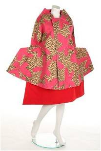 A Comme des Garçons 'Flat' or '2D' collection coat and