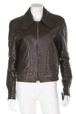 A Mr Fish man's leather jacket, late 1960s-early 1970s,