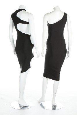 Three Swanky Modes stretch lycra disco/club dresses, - 3