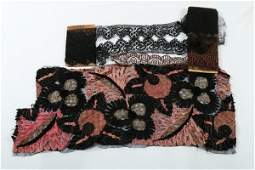 A large general collection of beaded tasselled and