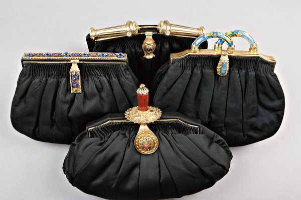 18: Two Au Seize evening bags, French, 1930s,  the firs