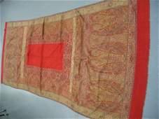 243: A woven kashmir shawl, circa 1845-50, with narrow