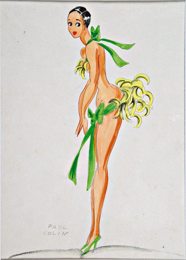 321: A Paul Colin design of Josephine Baker (1895-1985)