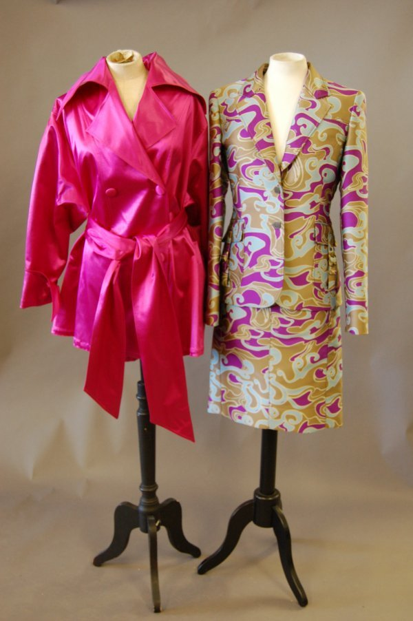 1012: An interesting group of designer wear, 1980s, six