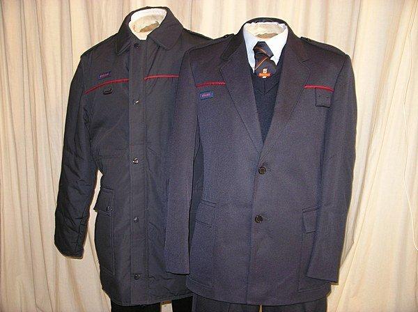 2007: Assorted uniforms, including vintage postmen, ove