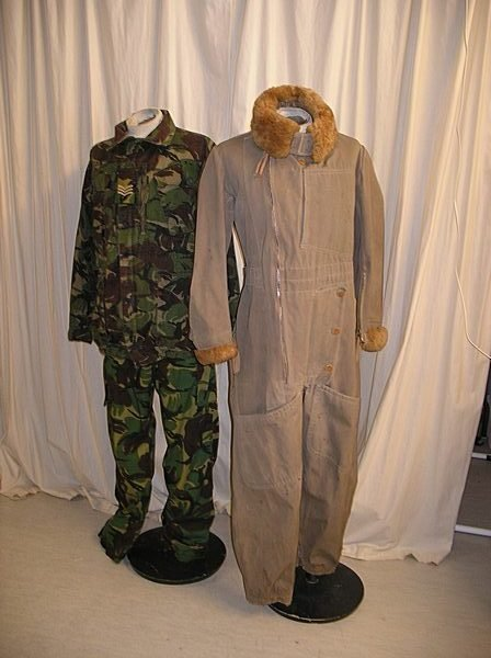2009: A large assortment of military wear, approx. 132