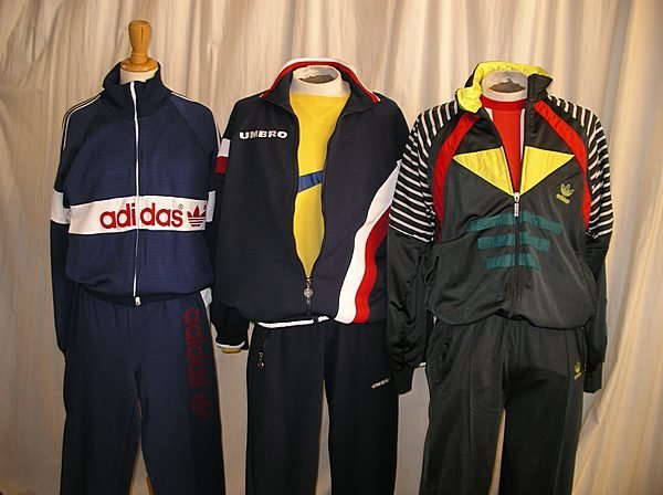 2013: A quantity of vintage sportswear, mainly 1970s-80