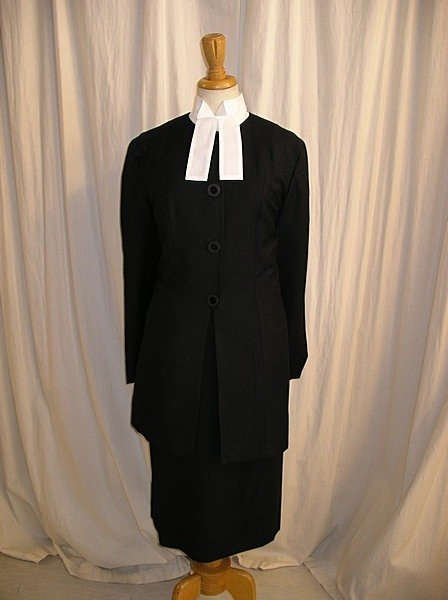 2015: A group of legal wear, comprising ladies suits, w