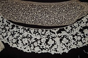1: A general collection of needlepoint lace, mainly Ita