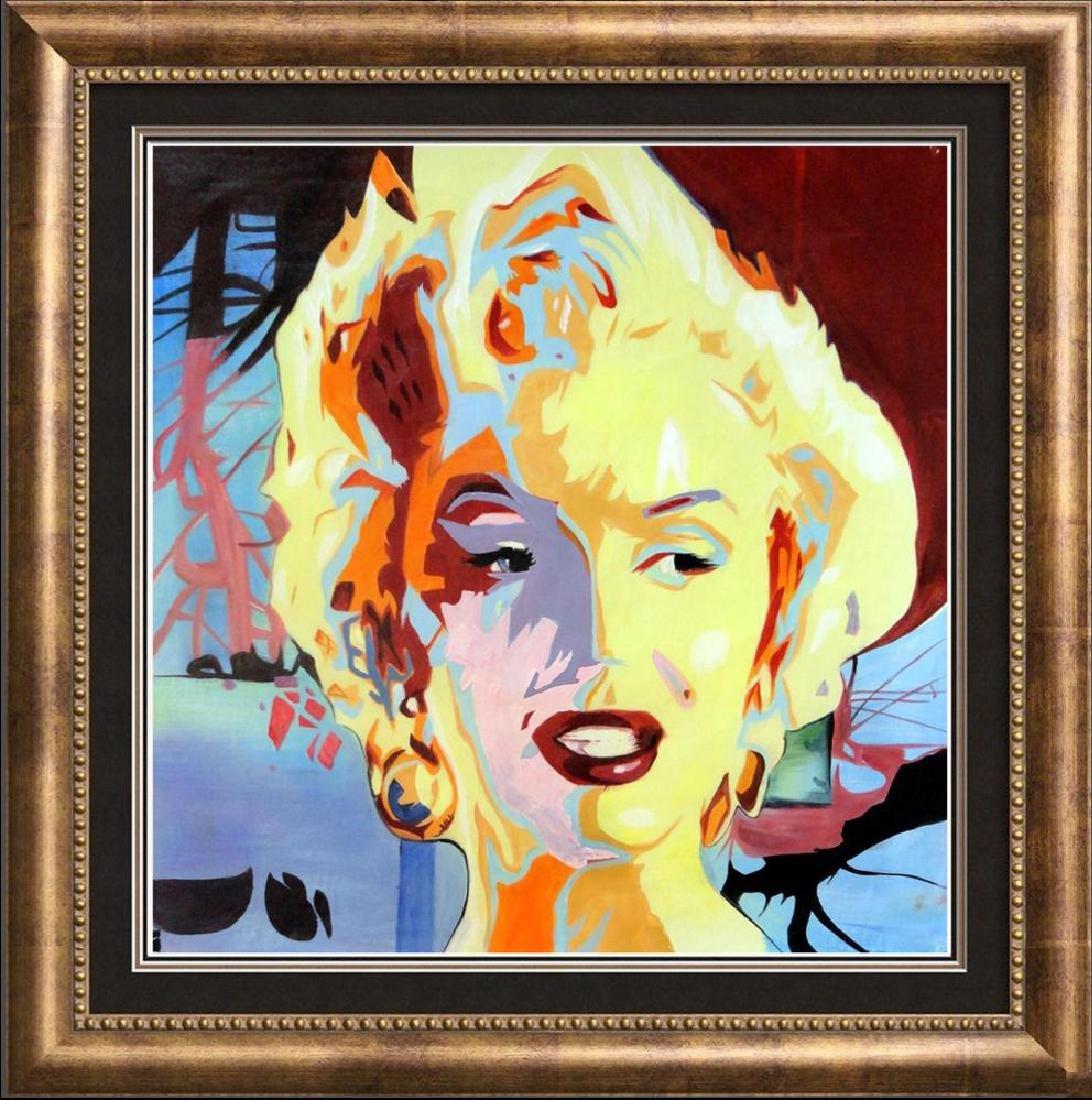Warhol Inspired Marilyn Monroe Original Painting on