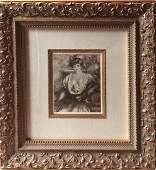 c.1924 Pierre Auguste Renoir Lithograph after the