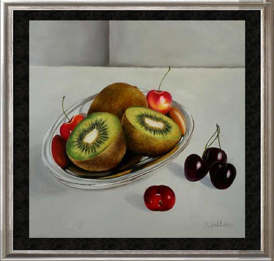 Realism Kiwi FRUIT Signed CANVAS DEALER LIQUIDATION