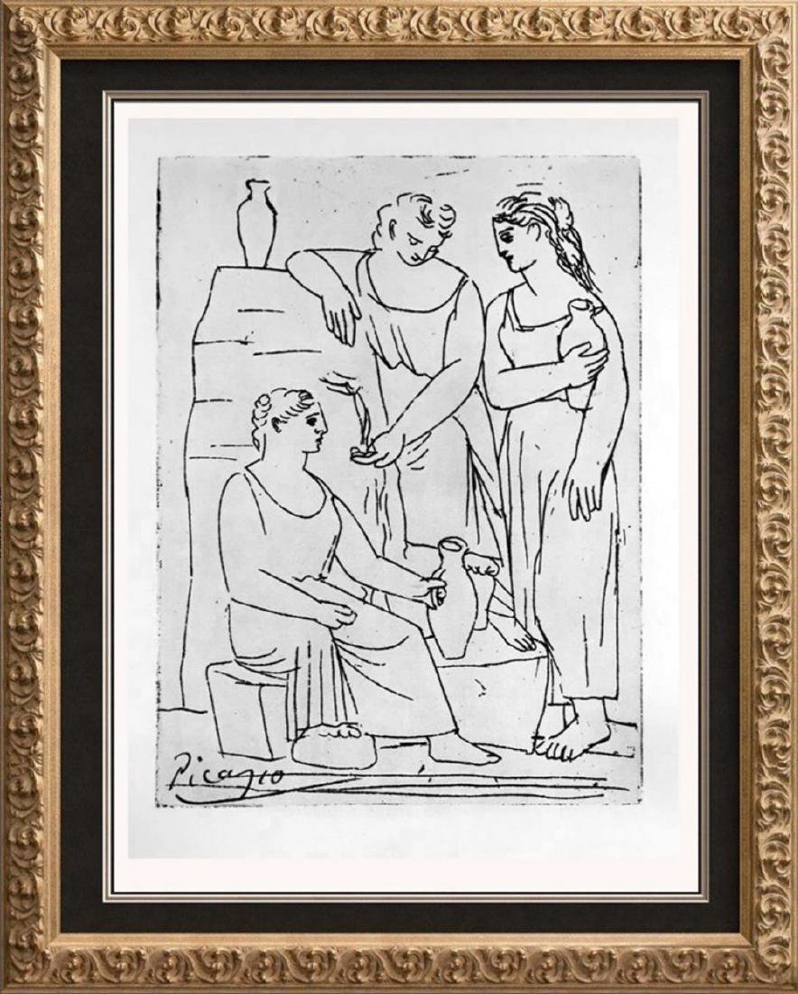 Pablo Picasso 'After'  The Source c. 1921 Fine Art