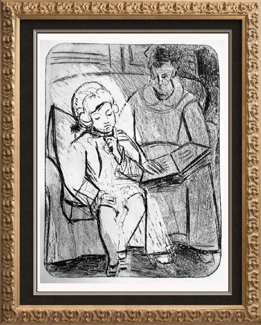 Pablo Picasso 'After'  Reading c. 1926 Fine Art Print
