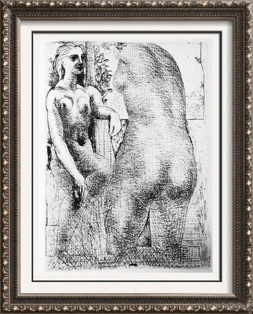 Pablo Picasso 'After'  Nude and Sculpture c. 1933 Fine